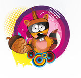 bobra kreskówki ilustracja ilustracja wektor