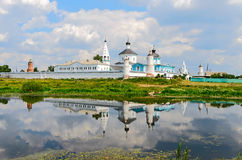Bobrenev monastery founded in the XIV century, Russia. Royalty Free Stock Image