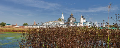 Bobrenev monastery founded in the XIV century, Russia. Stock Image