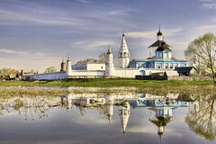 Bobrenev monastery in Kolomna Stock Images