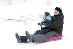 Bobsleigh Stock Photo