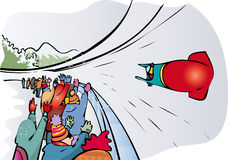 Bobsleigh Stock Image