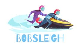 Free Bobsleigh Sports Illustration Stock Photography - 135068242