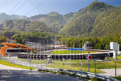 The bobsleigh track Royalty Free Stock Photo