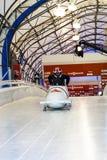 Bobvärldscup Calgary Kanada 2014 Royaltyfria Bilder