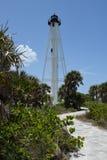 Boca重创的灯塔 库存照片