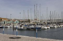 Boca делает порт Bom Sucesso Стоковые Изображения RF