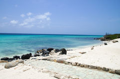 Boca Catalina Cove. Amazing Aruba spot for Snorkelers Royalty Free Stock Photography