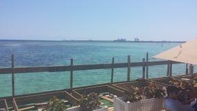 Boca chica plaża zdjęcia royalty free