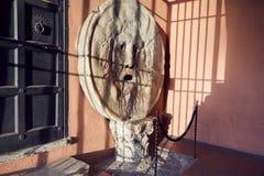A boca da verdade em Roma Fotografia de Stock Royalty Free