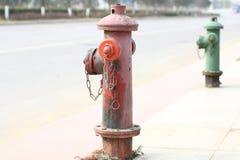 Boca de incêndio de fogo Fotografia de Stock Royalty Free