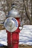 Boca de incêndio de fogo Fotos de Stock Royalty Free