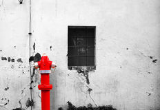 Boca de incêndio de fogo da rua Imagem de Stock