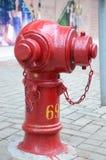 Boca de incêndio de fogo em Hong Kong Fotografia de Stock Royalty Free
