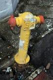 Boca de incêndio de fogo em Malásia Fotografia de Stock
