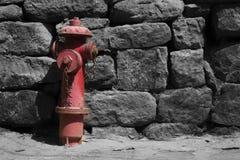 Boca de incêndio de fogo na cidade ancent em China Imagem de Stock
