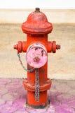 boca de incêndio de fogo 1904 no assoalho da construção Imagens de Stock Royalty Free