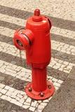 Boca de incêndio de incêndio Fotos de Stock Royalty Free