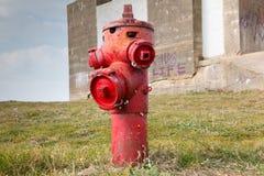 Boca de incêndio de incêndio velha Imagem de Stock Royalty Free