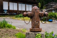 Boca de incêndio de incêndio velha Fotografia de Stock