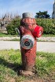 Boca de incêndio velha Imagem de Stock