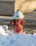 Boca de incendio de la boca de incendios Fotografía de archivo libre de regalías