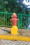 Boca de incendio de la boca de incendios Imagen de archivo