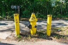 Boca de incendio de la boca de incendios Fotos de archivo