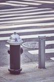 Boca de incendios de New York City fotografía de archivo