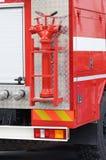 Boca de incendios - un dispositivo para muestrear el agua Fotos de archivo