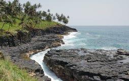 Boca de Inferno, Sao Tomé e Principe fotografie stock