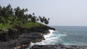 Boca de Inferno, Sao-Tomé-et-Principe banque de vidéos