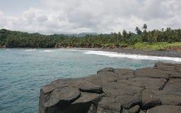 Boca de Inferno, Sao Tome and Principe. Africa Stock Images