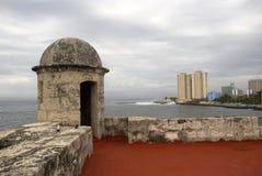 Boca de la Chorrea Fort, Havana, Cuba Stock Photos