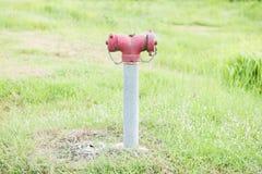 Boca de la manguera de bomberos fotografía de archivo libre de regalías
