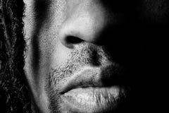 Boca de la nariz imagen de archivo libre de regalías