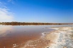 Boca de río de Ugab Imagen de archivo libre de regalías