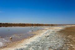 Boca de río de Ugab Foto de archivo