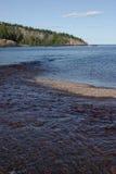 Boca de río del bautismo Foto de archivo