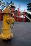 Boca de riego de fuego de Denver Colorado Fotos de archivo libres de regalías