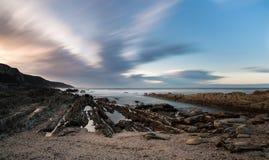 Boca de rio África do Sul da tempestade Imagens de Stock