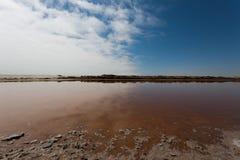 Boca de rio de Ugab Fotografia de Stock