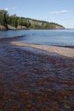 Boca de rio do baptismo imagens de stock