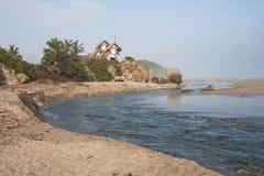 Boca de río Fotos de archivo