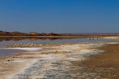 Boca de río de Ugab Imagenes de archivo