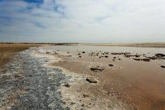 Boca de río de Ugab Fotografía de archivo