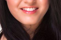 Boca de uma menina bonita Imagem de Stock Royalty Free