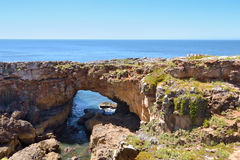 Boca del infierno Cascais, Portugal Royaltyfria Foton