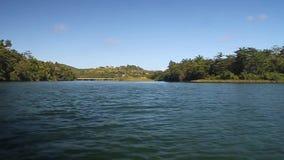 Boca del río de Rio Toa metrajes