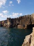 Boca Do Inferno απότομοι βράχοι στοκ εικόνα με δικαίωμα ελεύθερης χρήσης